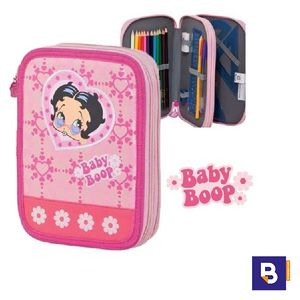 PLUMIER DOBLE SPORTANDEM BABY BOOP