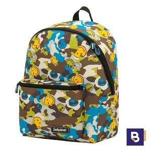 MOCHILA TEEN SPORTANDEM ADAPTABLE A CARRO SMILEY CAMU CAMUFLAJE 568043