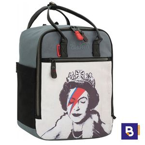MOCHILA SPORTANDEM ERASMUS TRENDY BRANDALISED QUEEN BANKSY 612012