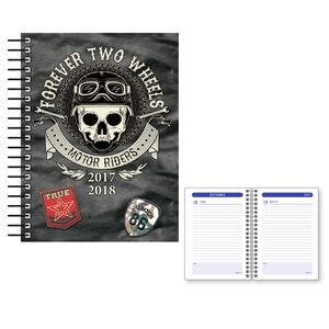 AGENDA ESCOLAR 2017/18 SENFORT DIA PAGINA KATACRAK AUTHENTIC 1217172