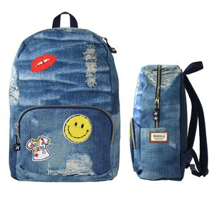 MOCHILA KATACRAK JEANS PATCHES SENFORT 119317