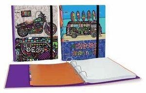 CARPEBLOC RINGBOOK A4 BAGGUAY DREAM BIG SENFORT 113046