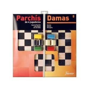 JUEGO PARCHIS DAMAS 40 C/ACCESORIOS FOURNIER