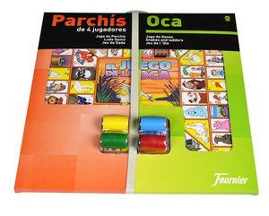 TABLERO PARCHIS/OCA 02009 ACCESORIOS 40 CMS