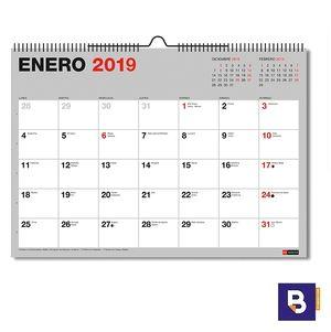 CALENDARIO DE PARED MIQUELRIUS A3 PARA ESCRIBIR ESPIRAL MES A LA VISTA 28014