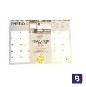 CALENDARIO A4 DE PARED 2018 MIQUELRIUS PARA ESCRIBIR 28031