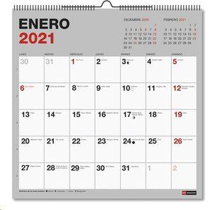 CALENDARIO DE PARED 2021 MIQUELRIUS 30X30 REF 28068