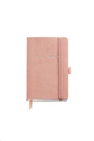 AGENDA 2021 122X168 SEMANA/VISTA JOURNAL MINIMAL FLEXIBLE CORAL REF 33136
