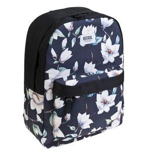 MOCHILA BUSQUETS BECOOL TREND BAGS XANADU FLORES 19.691.09490.0