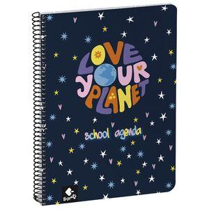 AGENDA ESCOLAR 2021/22 BUSQUETS LOVE YOUR PLANET
