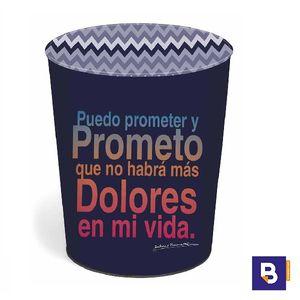 PAPELERA METAL DIS2 DOLORES PROMESAS 26.780.05040.0