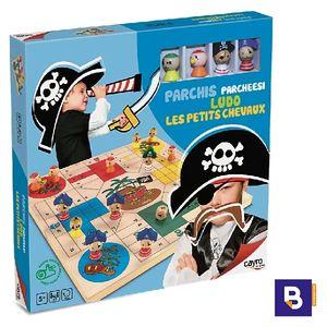 PARCHIS DE MADERA PIRATAS CAYRO THE GAMES 840