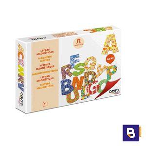 JUEGO LETRAS MAGNETICAS 60 PIEZAS CAYRO THE GAMES 874