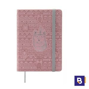 AGENDA ESCOLAR 2019/20 FINOCAM DIA PAGINA 118X168 M4 NATURAL INDIAN 532031320 ROSA ZORRO INDIO