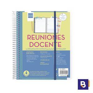BLOC ESPIRAL FINOCAM DOCENTES LIBRETA DE REUNIONES PARA PROFESORES 5340800