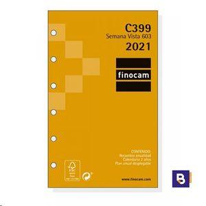 RECAMBIO AGENDA 2021 FINOCAM SEMANA VISTA 603 C399