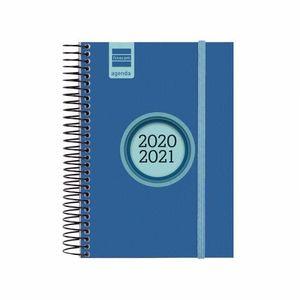 AGENDA ESCOLAR FINOCAM 2020/21 1/8 DIA/PAGINA ESPIR LABEL AZUL REF 633361521