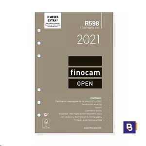 RECAMBIO AGENDA 2021 FINOCAM DIA PAGINA R598