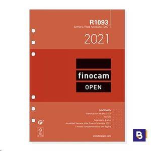RECAMBIO AGENDA 2021 FINOCAM SEMANA VISTA R1093