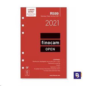 RECAMBIO AGENDA 2021 FINOCAM SEMANA VISTA R599