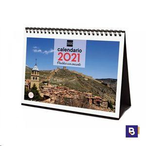 CALENDARIO 2021 SOBREMESA PUEBLOS CON ENCANTO FINOCAM