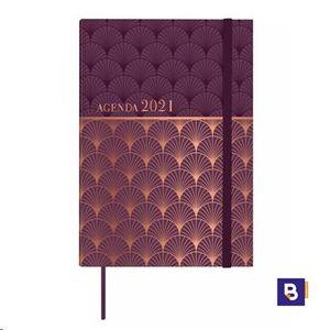AGENDA 2021 A5 SEMANA VISTA ENCUADERNADA FINOCAM BELIN MOSAIC 624001121