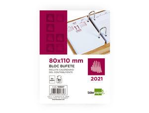 TACO BLOC BUFETE 2021 81X110 LIDERPAPEL