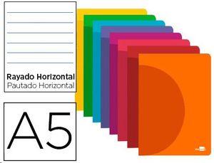 LIBRETA LIDERPAPEL A5 48H 90G HORIZONTAL
