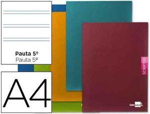 LIBRETA LIDERPAPEL DIN A-4 PAUTA 2,5 48H 90 GRS