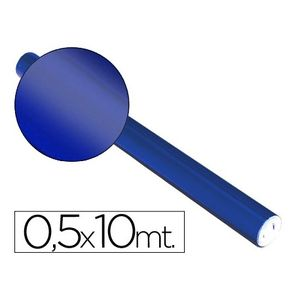 PAPEL ALUMINIO METALIZADO ROLLO DE 0,5 X 10 M. AZUL