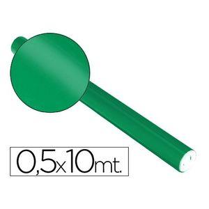 PAPEL ALUMINIO METALIZADO ROLLO DE 0,5 X 10 M. VERDE