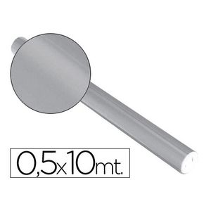 PAPEL ALUMINIO METALIZADO ROLLO DE 0,5 X 10 M. PLATA