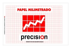 BLOC PAPEL MILIMETRADO PRECISION 50 HOJASDIN A-4