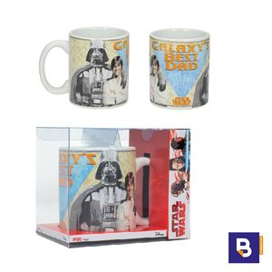 TAZA STAR WARS EP. VIII EL ULTIMO JEDI GALAXY'S BEST DAD