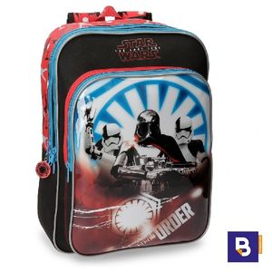 MOCHILA DOBLE STAR WARS EL ULTIMO JEDI 40 CM ADAPTABLE A CARRO JOUMMA BAGS 4222361