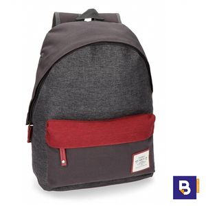 MOCHILA PEPE JEANS QUILTED GRIS 7282362