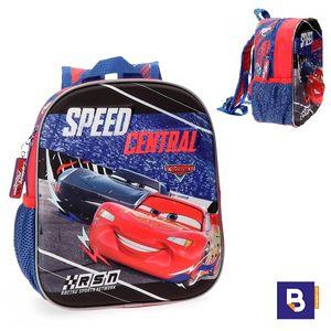 MOCHILA PEQUEÑA 25 CM FRONTAL 3D JOUMMA BAGS CARS SPEED CENTRAL 4362061
