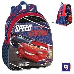 MOCHILA MEDIANA 33 CM FRONTAL 3D JOUMMA BAGS CARS SPEED CENTRAL 4362261