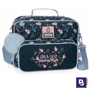 NECESER ADAPTABLE A CARRO ENSO LOVE AND LUCKY CON BOLSILLO Y POMPON 9114561