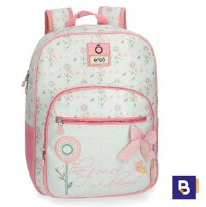 MOCHILA MEDIANA POLIPIEL 38 CM ADAPTABLE A CARRO ENSO OWLS BUHOS 91222B1