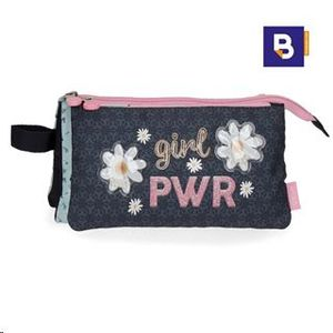 PORTATODO 3 COMPARTIMENTOS GIRL POWER ENSO 9024321
