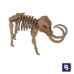 MAQUETA WOOD MODELS MAMUT POCKET 25316