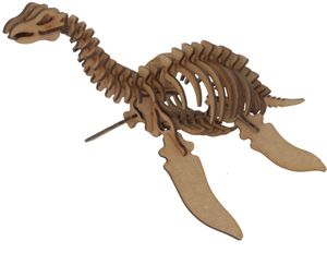 MAQUETA WOOD MODELS PLESIOSAURUS POCKET 25319