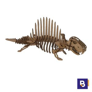 MAQUETA WOOD MODELS DIMETRODON POCKET 25320