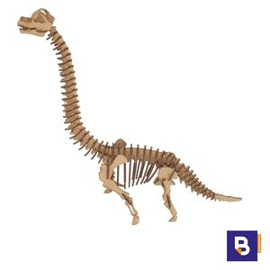 MAQUETA WOOD MODELS BRACHIOSAURUS SERIE POCKET 25325