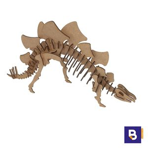 MAQUETA WOOD MODELS STEGOSAURUS POCKET 25324