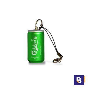 MEMORIA USB PEN DRIVE 16 GB LATA CERVEZA CARLSBERG TECHONETECH