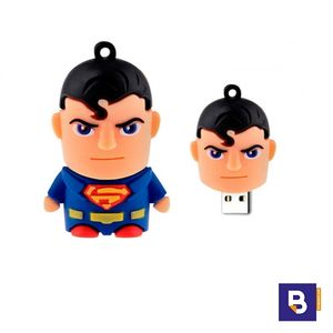 MEMORIA USB PENDRIVE 16GB SUPERMAN SUPER S TECHONETECH