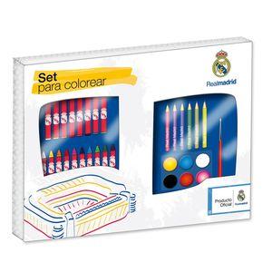 SET PARA COLOREAR REAL MADRID 750433