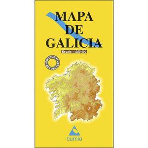 MAPA DE GALICIA ESCALA 1: 250.000